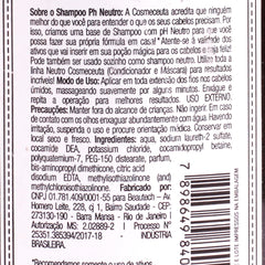 Shampoo Cosmeceuta PH Neutro 300ml