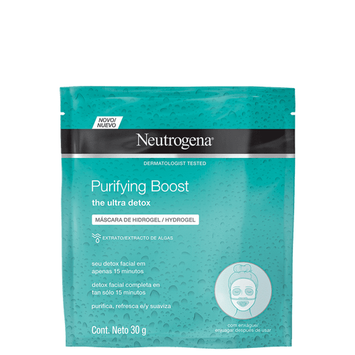 Máscara Neutrogena Purifying Boost 30ml