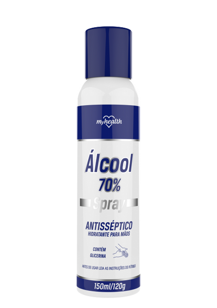 Spray  My Health Álcool Antisséptico 150ml