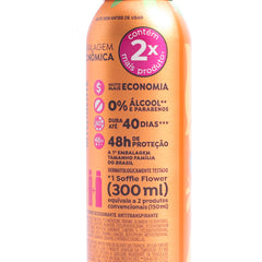 Desodorante Antitranspirante Soffie Flower 300ml
