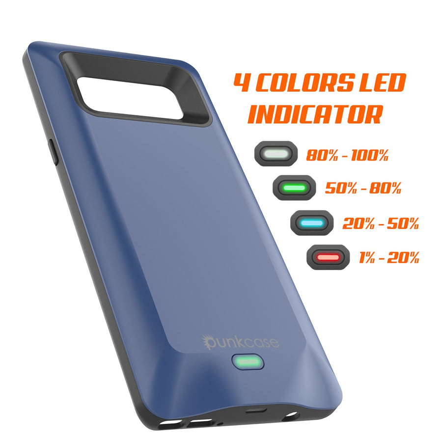 online retailer 25ef4 9f072 Galaxy Note 8 Battery Case, Punkcase 5000mAH Charger Case W/ Screen ...