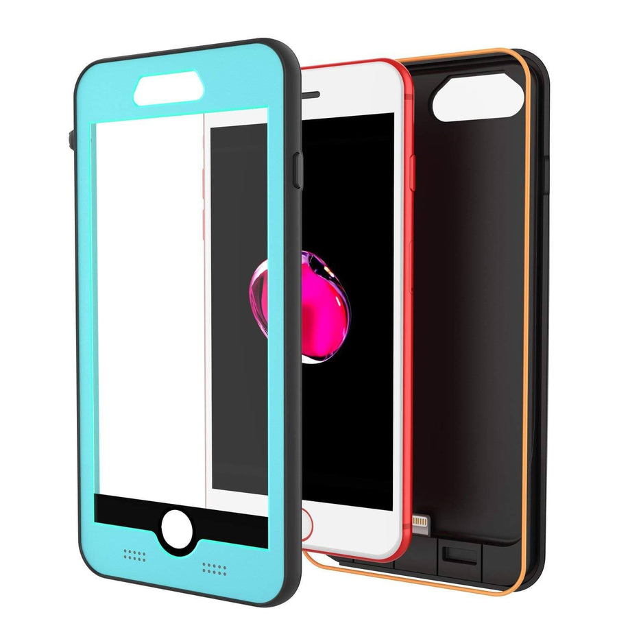 quality design 36313 b1a2a PunkJuice iPhone 8/7/6S/6+ Plus Battery Case Waterproof Slim Power ...