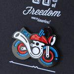 50cc of Freedom Enamel Pin