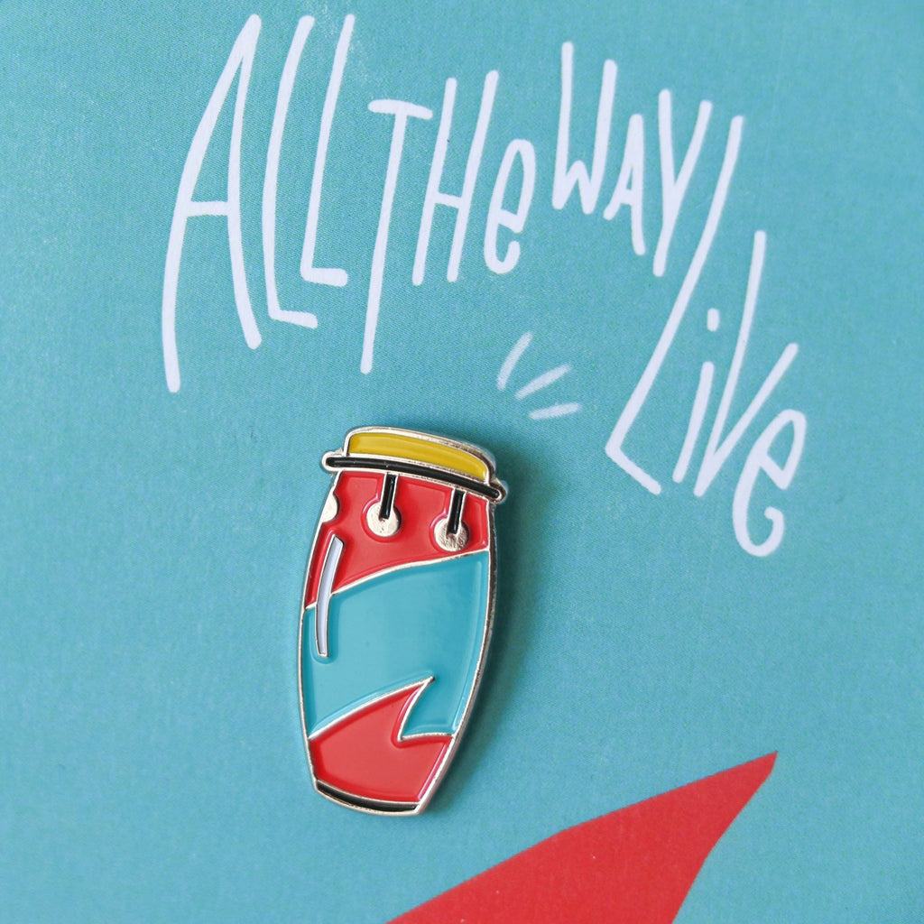 All the Way Live Enamel Pin