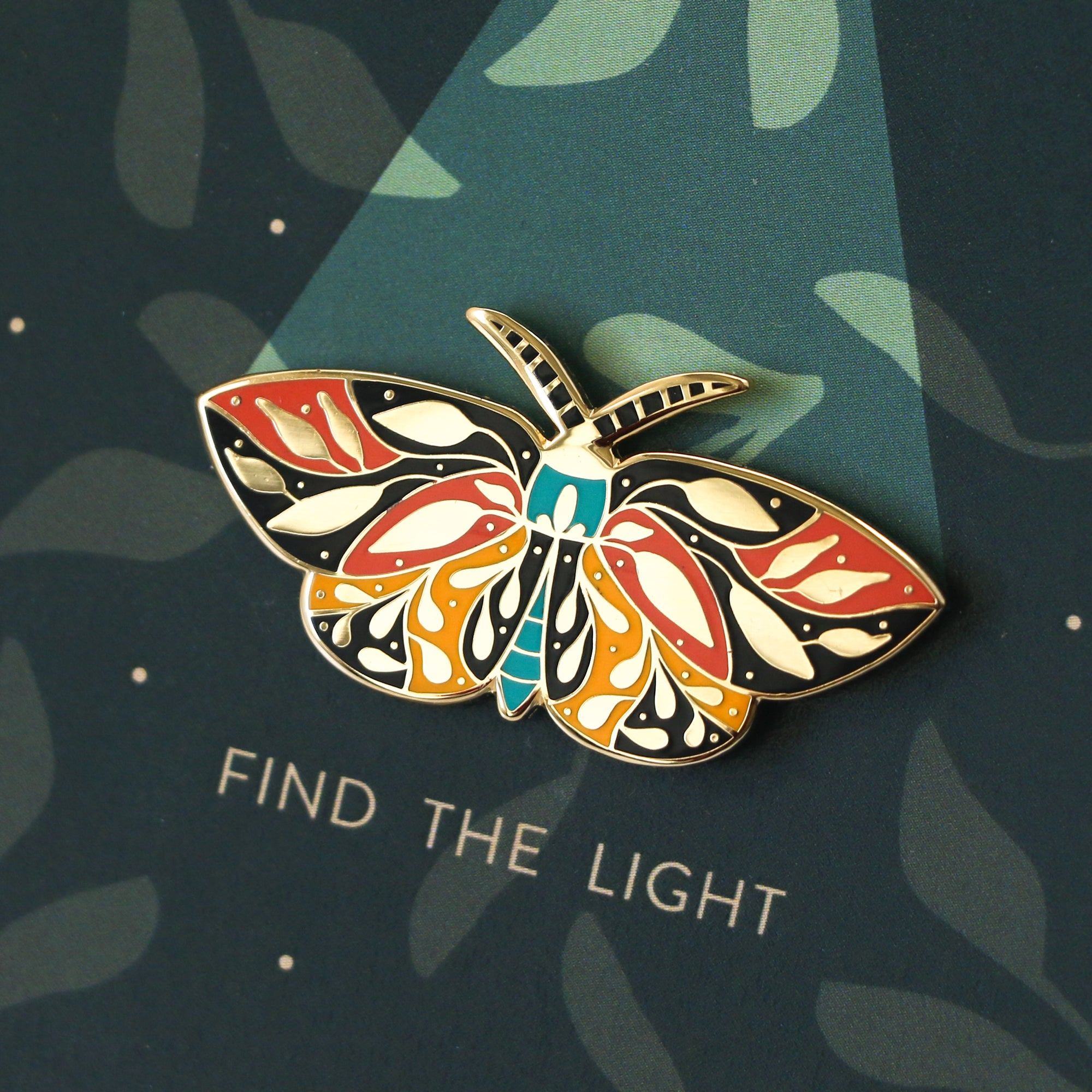 Find the Light Enamel Pin