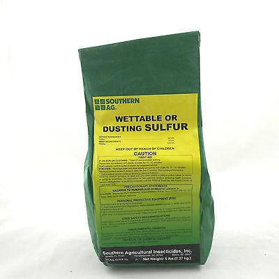Professional 90% Sulfur (Sulphur) -  Dust / Wettable Spray
