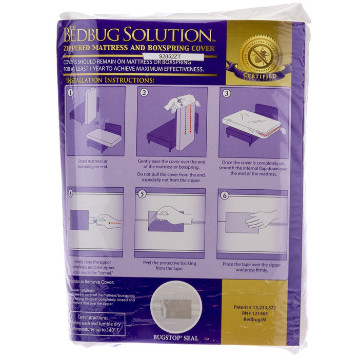 Bedbug Solution Crib Mattress Encasement