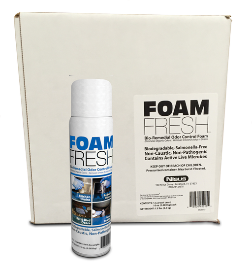 Foam Fresh Odor Control Foam by Nisus