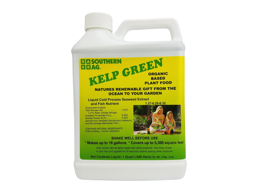 Kelp Green - Organic Fertilizer / Plant Food - The Best Liquid Kelp Fertilizer!!