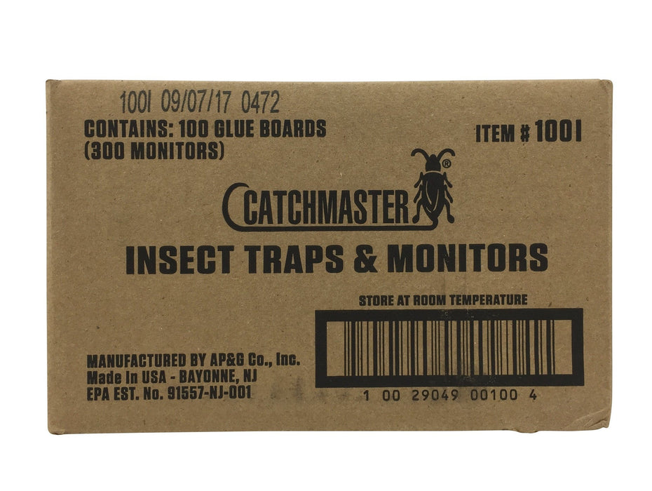 CatchMaster 100i Insect Glue Traps & Monitors