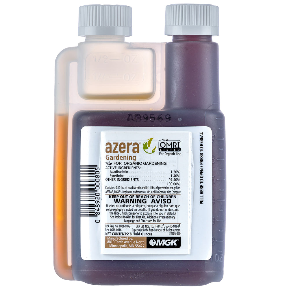 Azera Gardening OMRI Listed Organic Insecticide