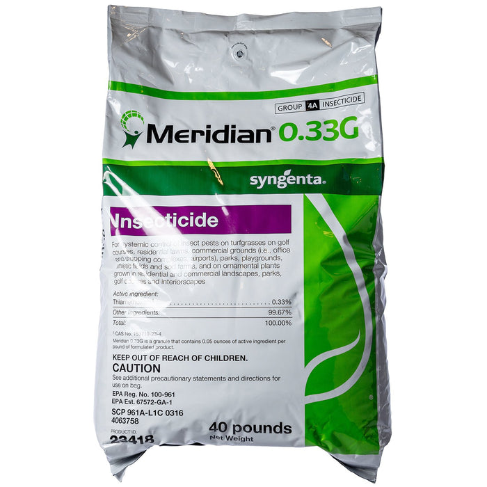 Meridian 0.33 G Insecticide 40lb Bag