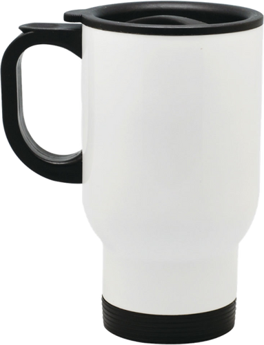 14oz Travel Mug White Blank