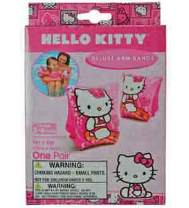 HELLO KITTY DELUXE ARM BANDS, Age 3-6, Pegable Box,