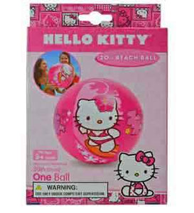 HELLO KITTY BEACH BALL, Age 3+, Pegable Box