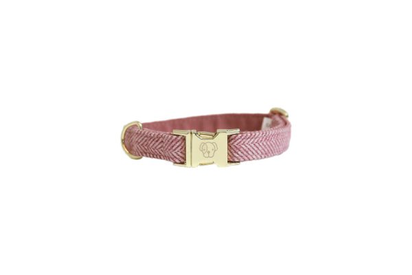 HALSBAND WOOL LIGHT PINK