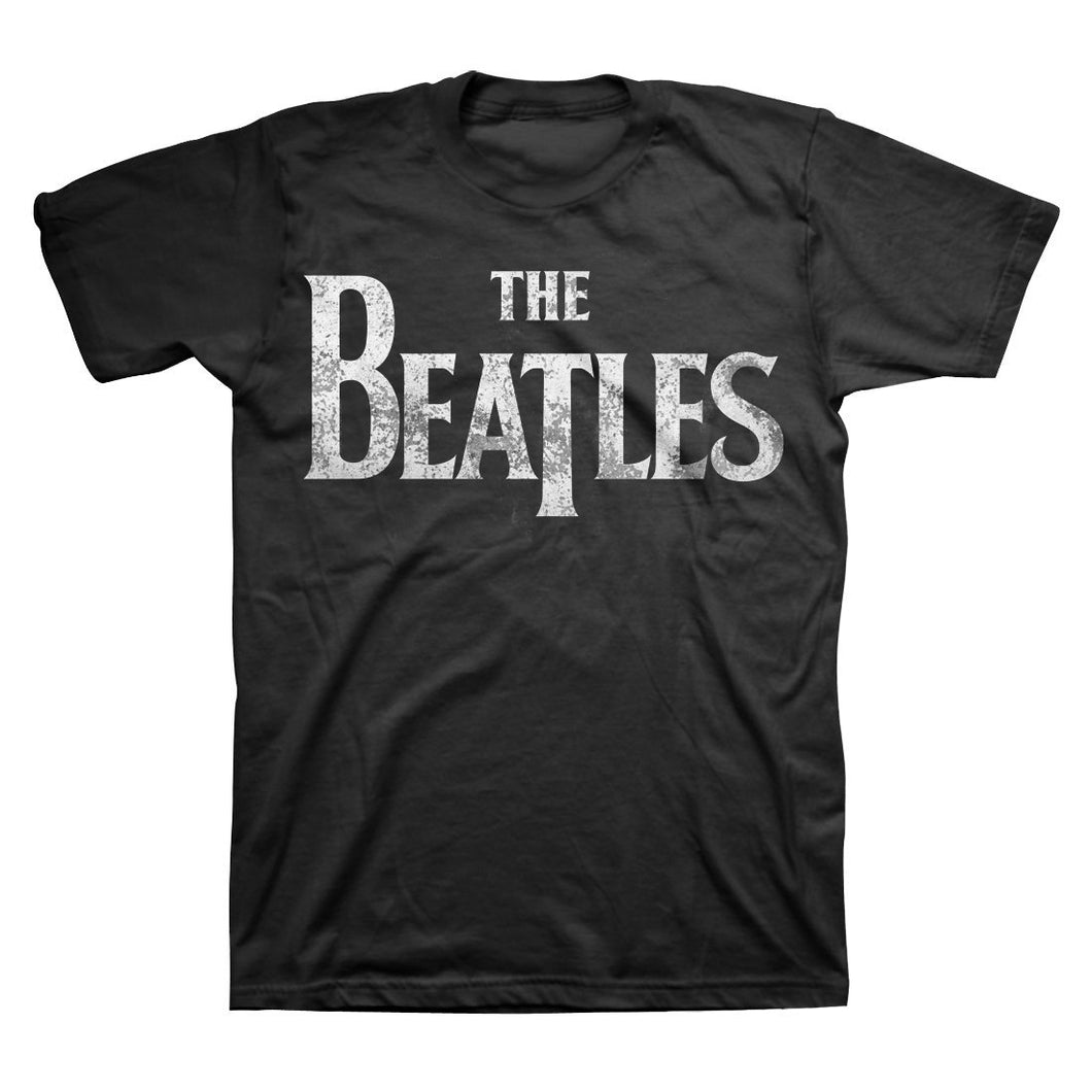 The Beatles | Distressed Logo T-Shirt