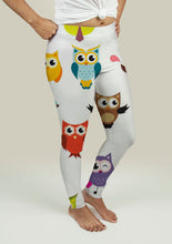 Load image into Gallery viewer, Leggings with Owls