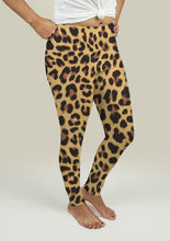 Load image into Gallery viewer, Leggings with Leopard Print
