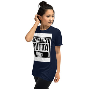 Straight Outta TP Short-Sleeve Unisex T-Shirt