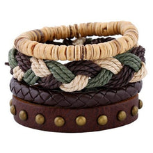 Load image into Gallery viewer, Leather Mens Bracelets