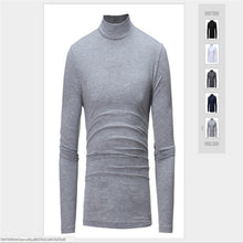 Load image into Gallery viewer, Men Casual Turtleneck Long sleeve Cotton - Papa Online Discount Store