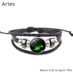 Zodiac Bracelets for Women Men - Handmade