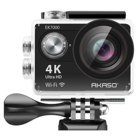 4K WiFi Sports Action Camera Ultra HD Waterproof DV Camcorder 12MP 170 Degree Wide Angle