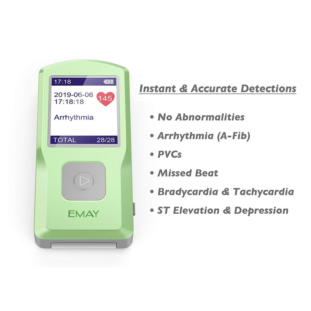 Portable EKG - PC Software Compatible With Both Windows & Mac