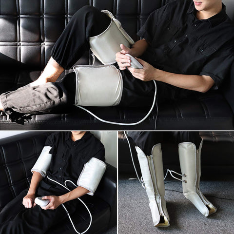 Electric Air Compression Leg Massager - 9 Different Massage Intensities