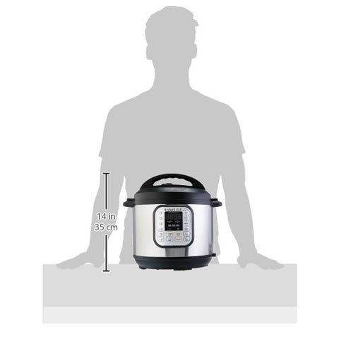 6 Qt 7-in-1 Multi-Use Programmable Pressure Cooker, Slow Cooker, Rice Cooker, Steamer, Sauté, Yogurt Maker and Warmer
