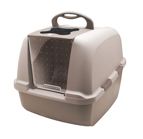 Hooded Cat Litter Pan