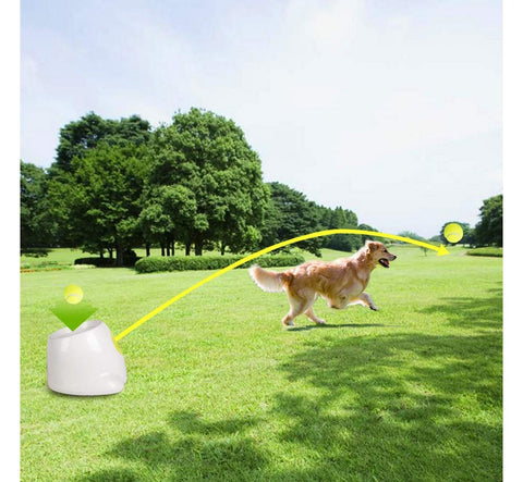 Interactive Automatic Dog Ball Launcher Dog Ball Throwing Toy