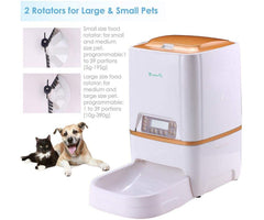 Smart Pet Automatic Feeder with Programmable Timer