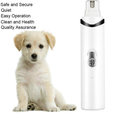 Rechargeable Pet Nail Grinder For Dogs and Cats with USB Charging