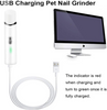 Image of Rechargeable Pet Nail Grinder For Dogs and Cats with USB Charging
