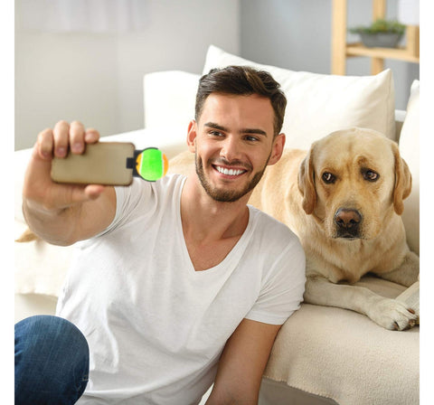 The Original Dog Selfie Stick Smartphone Attachment