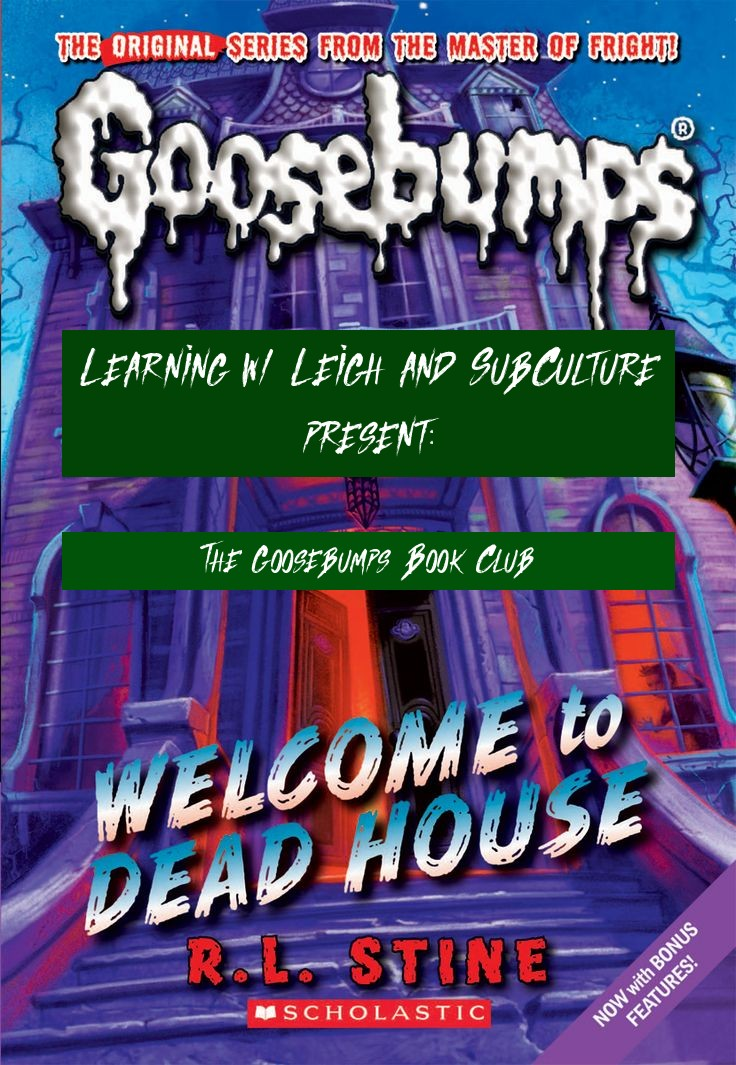 Learning w/ Leigh and SubCulture Present the Goosebumps Book Club - Virtual