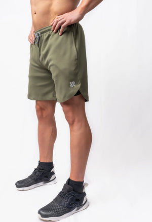 Roman Legacy Training Shorts- Olive Green