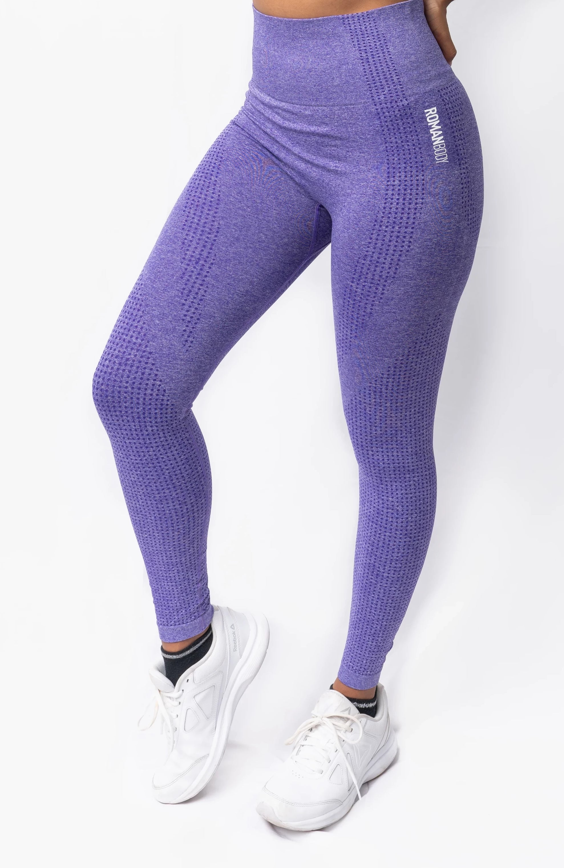 Roman Legacy Seamless Leggings- Purple