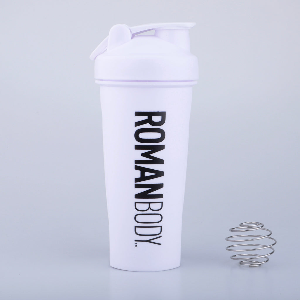 RB Protein Shaker Bottle- White