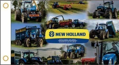 NEW HOLLAND AGRICULTURE Custom Flag