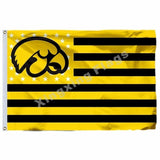 Iowa Hawkeyes Sport Flag