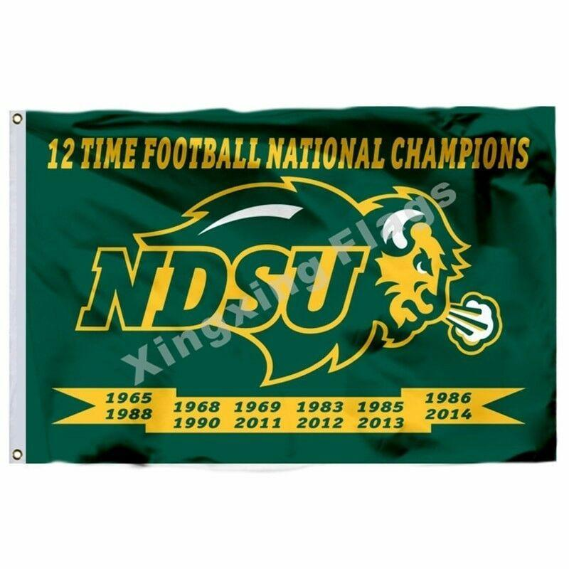 North Dakota State Bison Sport Flag