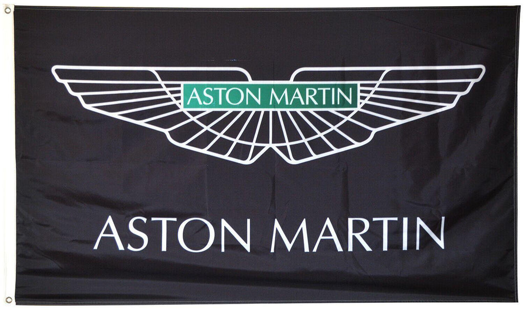 ASTON MARTIN Custom Flag