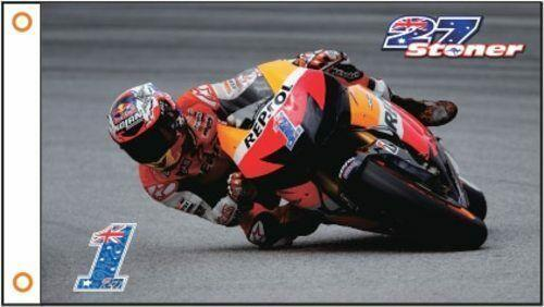Casey Stoner MotoGP Racing Flags For Sale