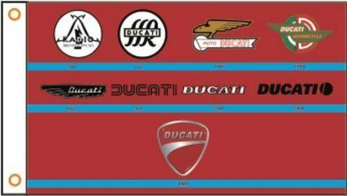 DUCATI Motorcycles Custom Flag