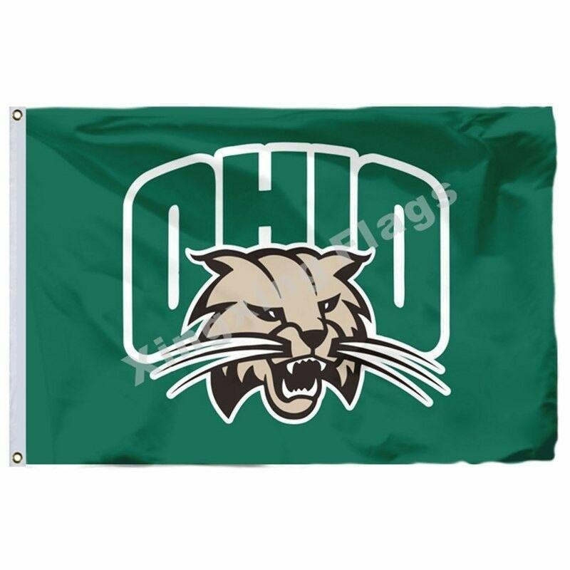 Ohio Bobcats Sport Flag