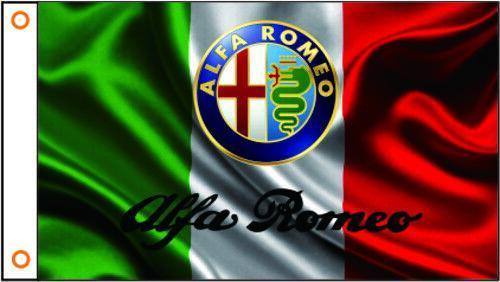 ALFA ROMEO Custom Flag