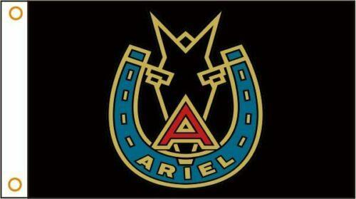 Ariel Motorcycles Custom Flag